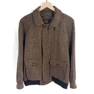 Vintage Chris Dawes Harris Tweed 100% Wool Jacket